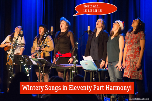 Wintery Songs in Eleventy Part Harmony tour coming up