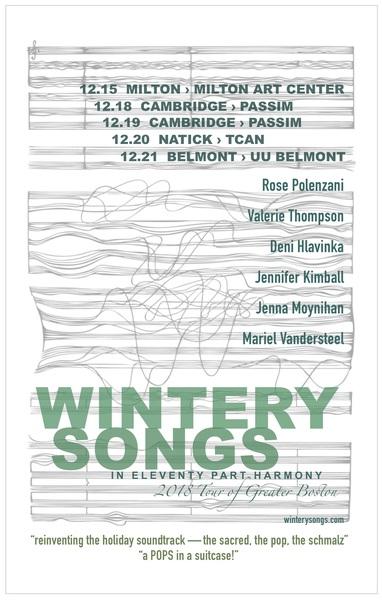 Wintery Songs in Eleventy Part Harmony 1215 - 1221