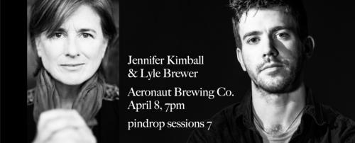 Jennifer Kimball and Lyle Brewer April 8 Aeronaut Brewing Co