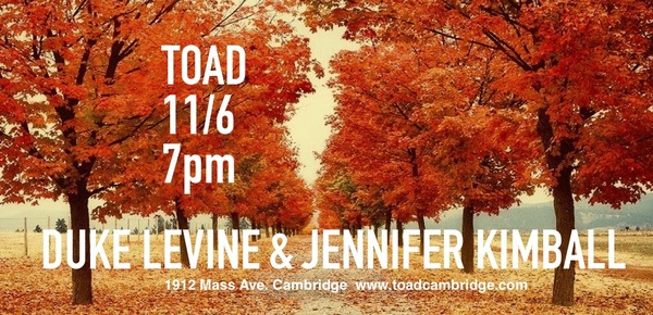 Election Day Eve at Toad
